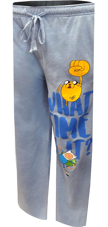 MJC Mens Adventure Time Jake and Finn Lounge Pants