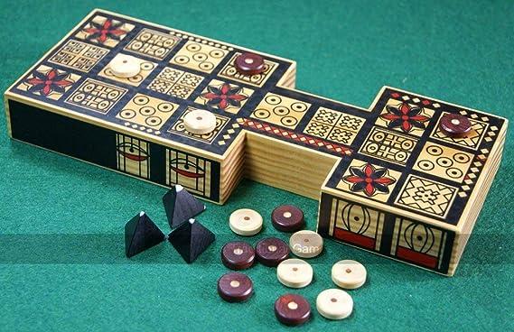 Replica Royal Game of Ur: Amazon.es: Juguetes y juegos