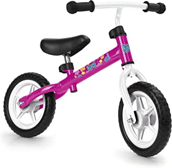Feber-700012480 Bicicleta sin Pedales, Color Rosa, no aplicable ...