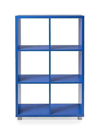 TENZO 1826 - 003 Box Designer biombos 2 x 3 Madera, Azul, 35 x 73 x 111 cm: Amazon.es: Hogar