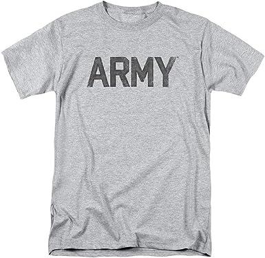beautiful& Camiseta Vintage desteñida con Logo del ejército ...