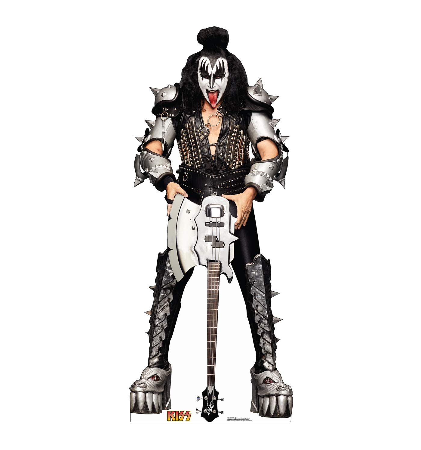 Advanced Graphics The Demon Life Size Cardboard Cutout Standup - KISS