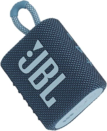 Jbl Go 3 Kleine Bluetooth Box In Blau Wasserfester Tragbarer Lautsprecher Für Unterwegs Bis Zu 5h Wiedergabezeit Mit Nur Einer Akkuladung Audio Hifi