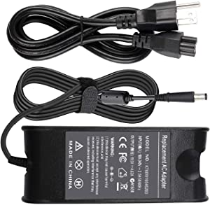 Gomarty 19.5V 4.62A PA-10 PA10 AC Power Adapter Battery Charger Compatible for Dell Inspiron 14 15 17 14R 15R 17R N4010 N4110 N7010 N7110 N5010 N5011 N5030 N5040 N5050 6000 6400 Power Supply