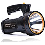 Eornmor Outdoor Handheld Portable Flashlight Waterproof Rechargeable Super Bright LED Spotlight Torch Searchlight 9000mah