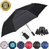 Amazon.com: NOOFORMER Paraguas plegable invertido automático ...