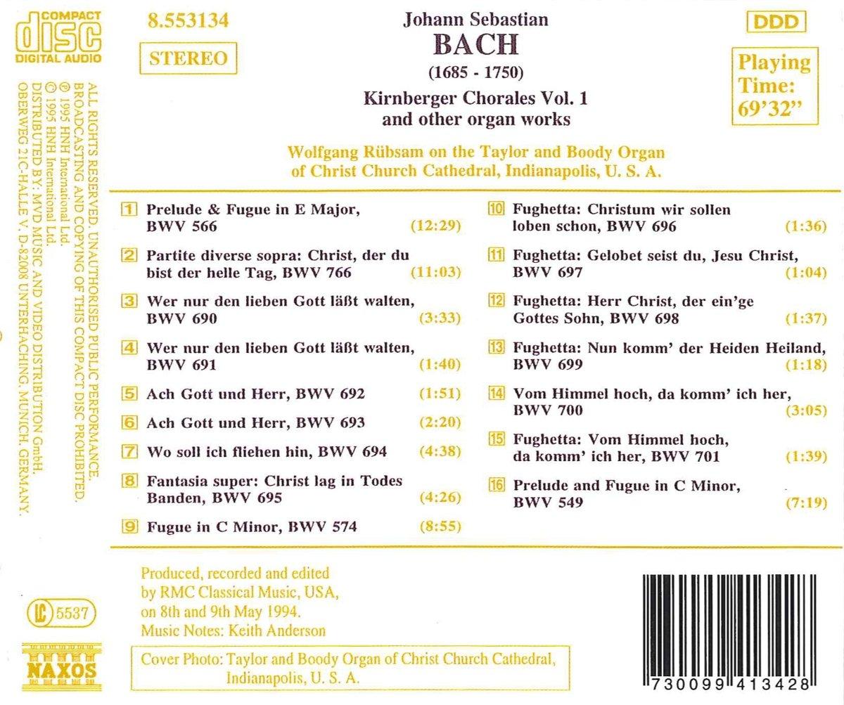 Ach Gott und Herr, from Kirnbergers Collection, BWV693