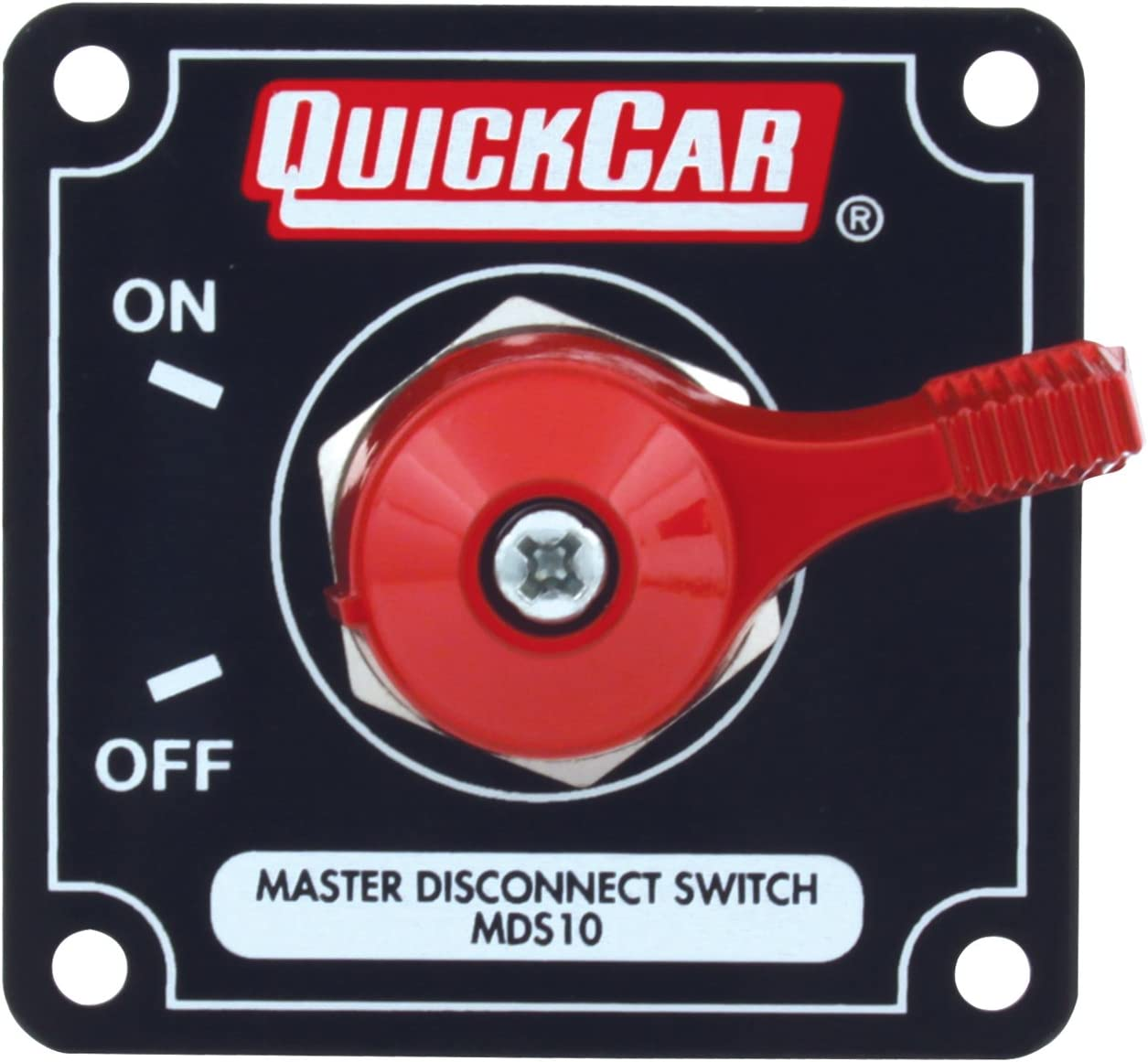 Quickcar Racing Products 55-010 Battery Master Disconnect Rotary Switch w// Panel
