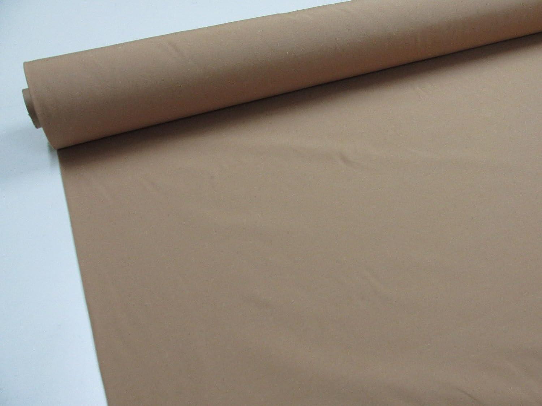 Confección Saymi - Metraje 0, 50 mts. tejido loneta lisa Nº 108 Beige Tostado con ancho 2, 80 mts.