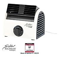 Sichler Haushaltsgeräte Walzenlüfter: Leistungsstarker High-Power-Walzen-Tisch-Ventilator VT-113.T, 30 Watt (Querstromlüfter)