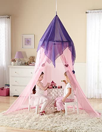 Discovery Kids- Fairy Tale Princess Canopy Pink by Merchsource & Amazon.com: Discovery Kids- Fairy Tale Princess Canopy Pink by ...