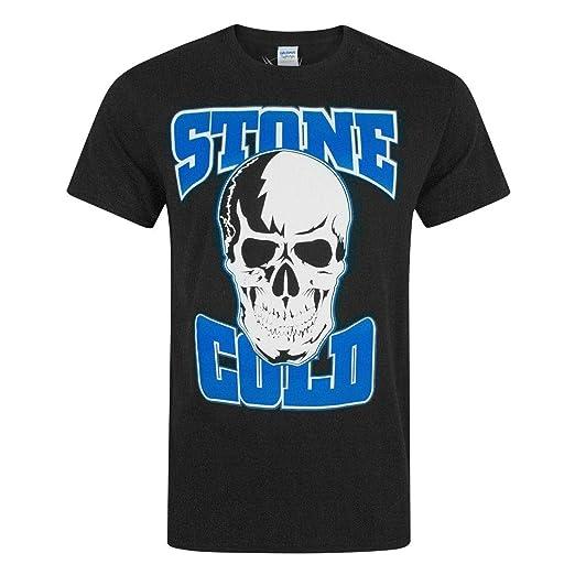 Hombres - WWE - Stone Cold Steve Austin - Camiseta (S): Amazon.es: Ropa y accesorios