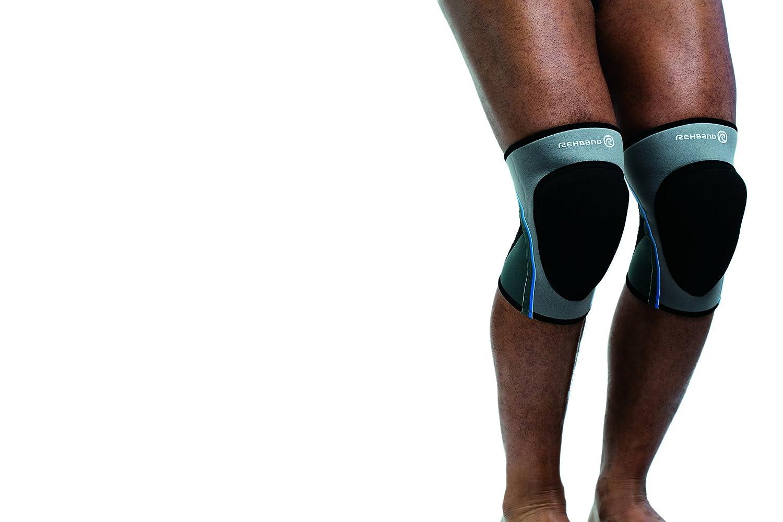 (XL: 16-43cm , Grey) - Rehband Mens Volleyball Knee Pad B001LK5UV2