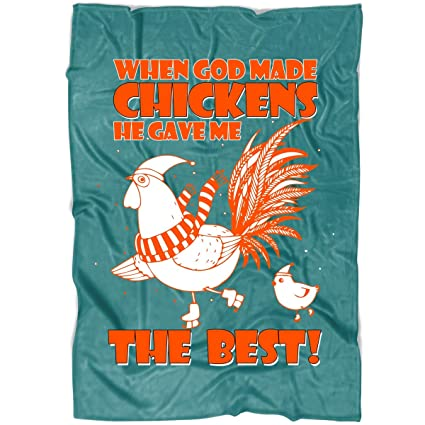 Amazon COLUSTORE Chicken Soft Fleece Throw Blanket Cute Cool Cute Fleece Throw Blankets