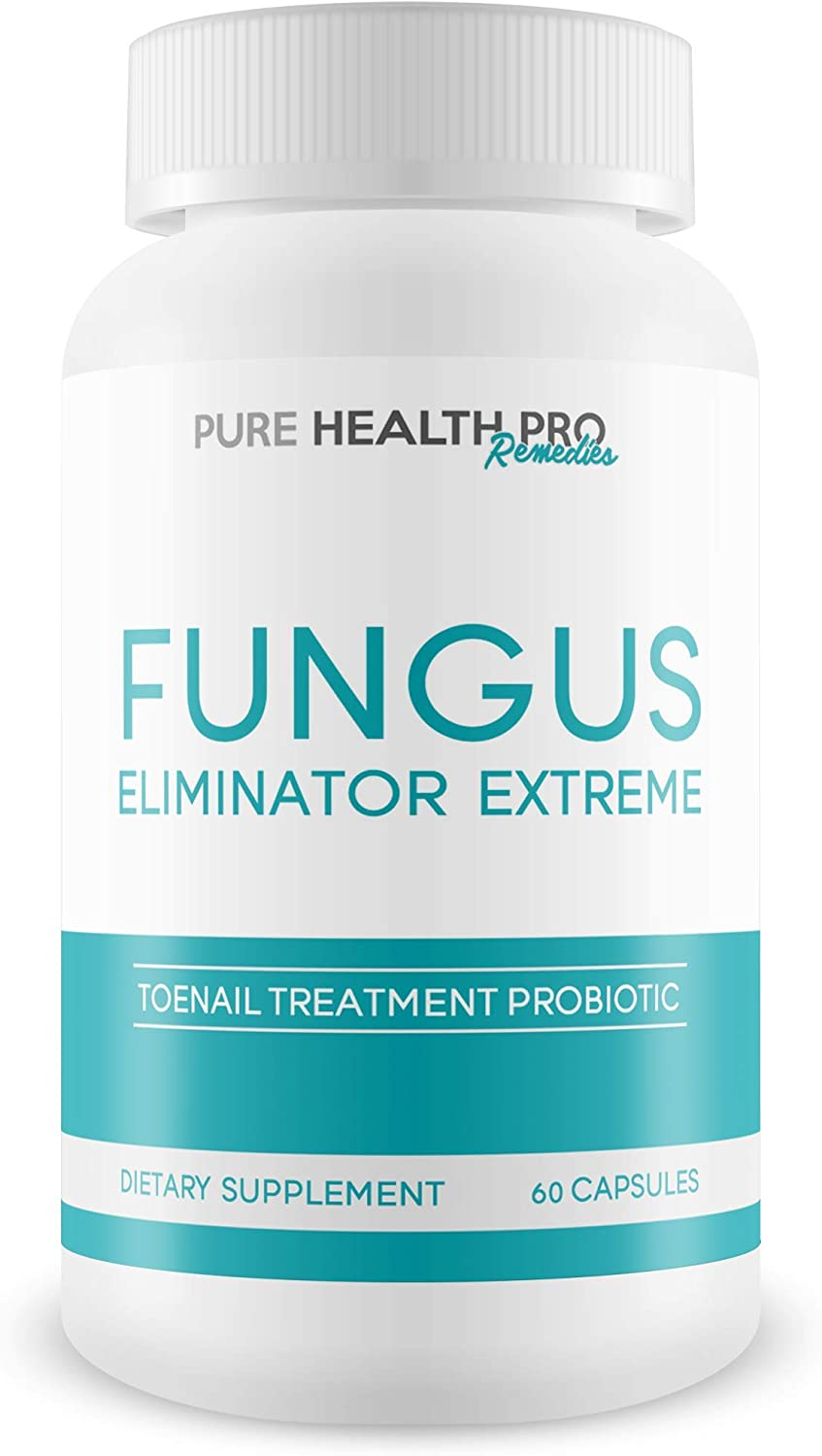 Fungus Eliminator Extreme - Toenail Treatment Probiotic - Probiotics for Overall Health - Probiotic Supplement Nail Fungus Eliminator - Fungus Eliminator Pure Health Pro Remedies: Health & Personal Care