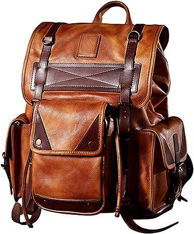 Men/'s Shoulder Bag Travel Messenger Bags For Men Cowhide Leather Luxury Handbag