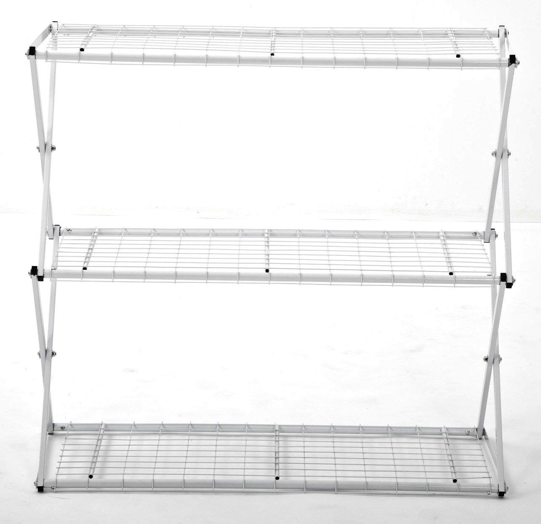 Flower House Exy EXY30W 3-Tier Shelf System White