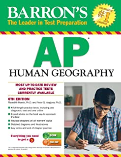 Amazon cracking the ap human geography exam 2017 edition barrons ap human geography 6th edition publicscrutiny Images