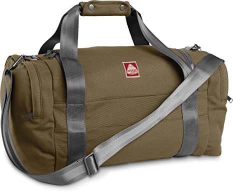 4490a1b7f8a9 JanSport Heritage Hipster duffel Canvas Edition - Army Green Cyp   Amazon.co.uk  Clothing