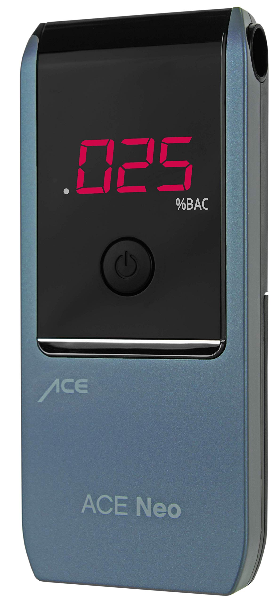 ACE Neo Breathalyzer with Police Grade Accurate Portable Fuel Cell Sensor and .005% Accuracy, Blue by ACE Instruments (Image #1)