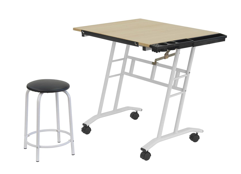 Amazon.com: Studio Designs 13240 Craft Center, White/Maple: Arts, Crafts U0026  Sewing