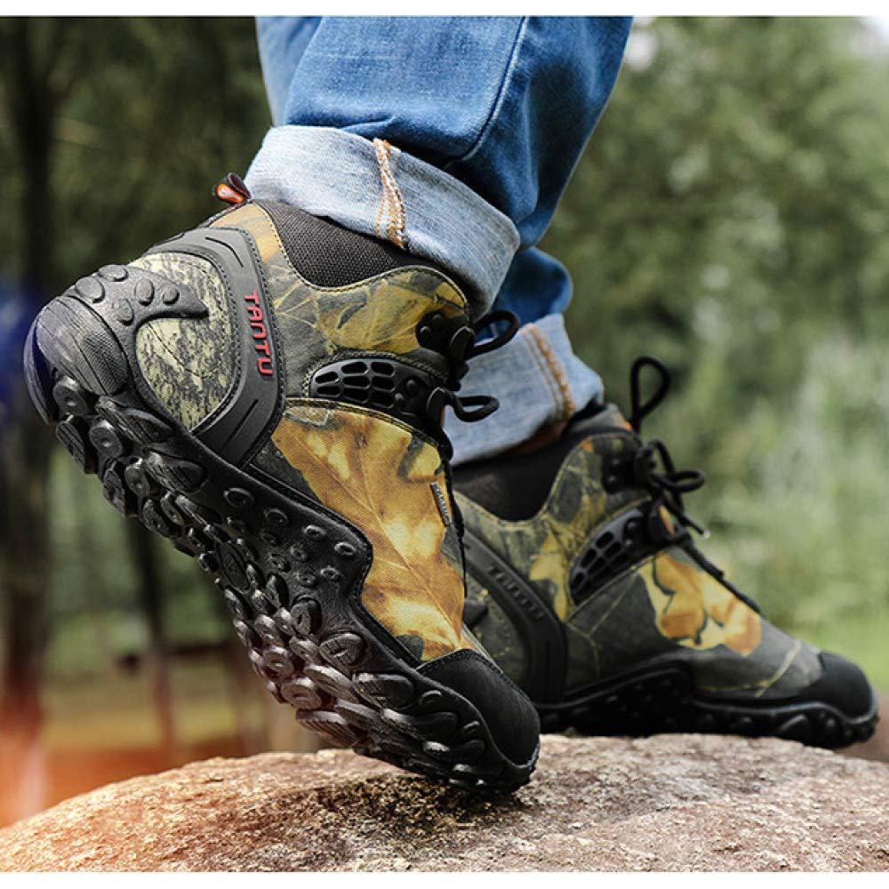 Männer Wanderschuhe Hoch Oben Im Freien Wasserdichte Tarnung Tarnung Tarnung Beim Gehen Trekking Stiefel Weg Bergsteigen Camping Wüste Schuhe 963975