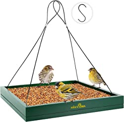 MIXXIDEA Hanging Platform Bird Feeder