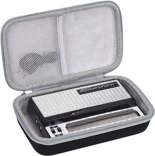 Aproca Duro Viajes Funda Bolso Caso para Recreation STYLOPHONE Stylophone Original (Black): Amazon.es: Instrumentos musicales