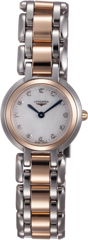 Longines Primaluna L8.109.5.87.6 - Reloj de Pulsera para Mujer (Esfera de Madreperla y Acero Inoxidable)