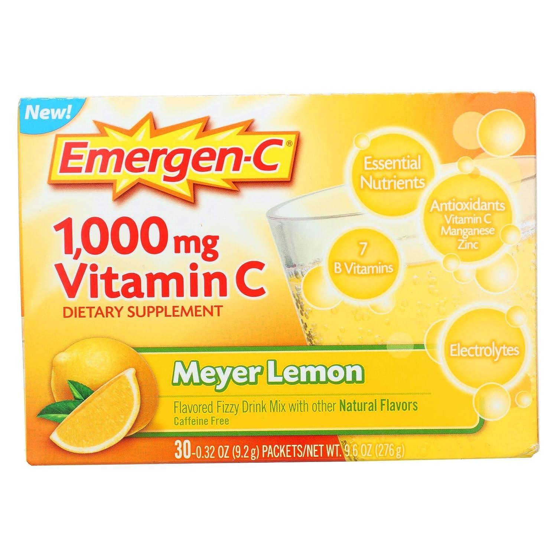 Amazon.com: emergen-c Meyer Limón, 0,32 oz, 30-Count: Health ...