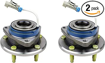 Pair 2 New Front Wheel Hub /& Bearing Assemblies Left /& Right with 1 Yr Warranty