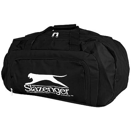 7dd9e1f2e62f3 Slazenger - Sporttasche - Trainingstasche - Reisetasche - Tasche - 55L -  mit Farbwahl (schwarz)  Amazon.de  Sport   Freizeit