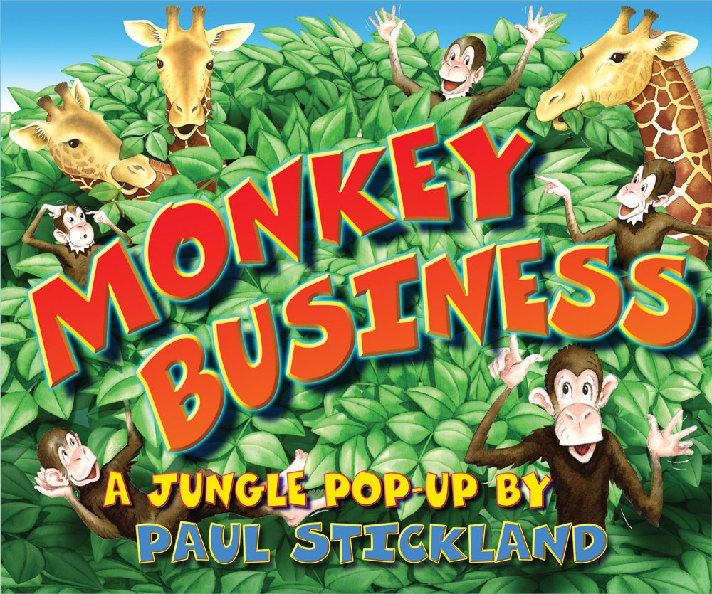 Monkey Business: Pop-up ebook