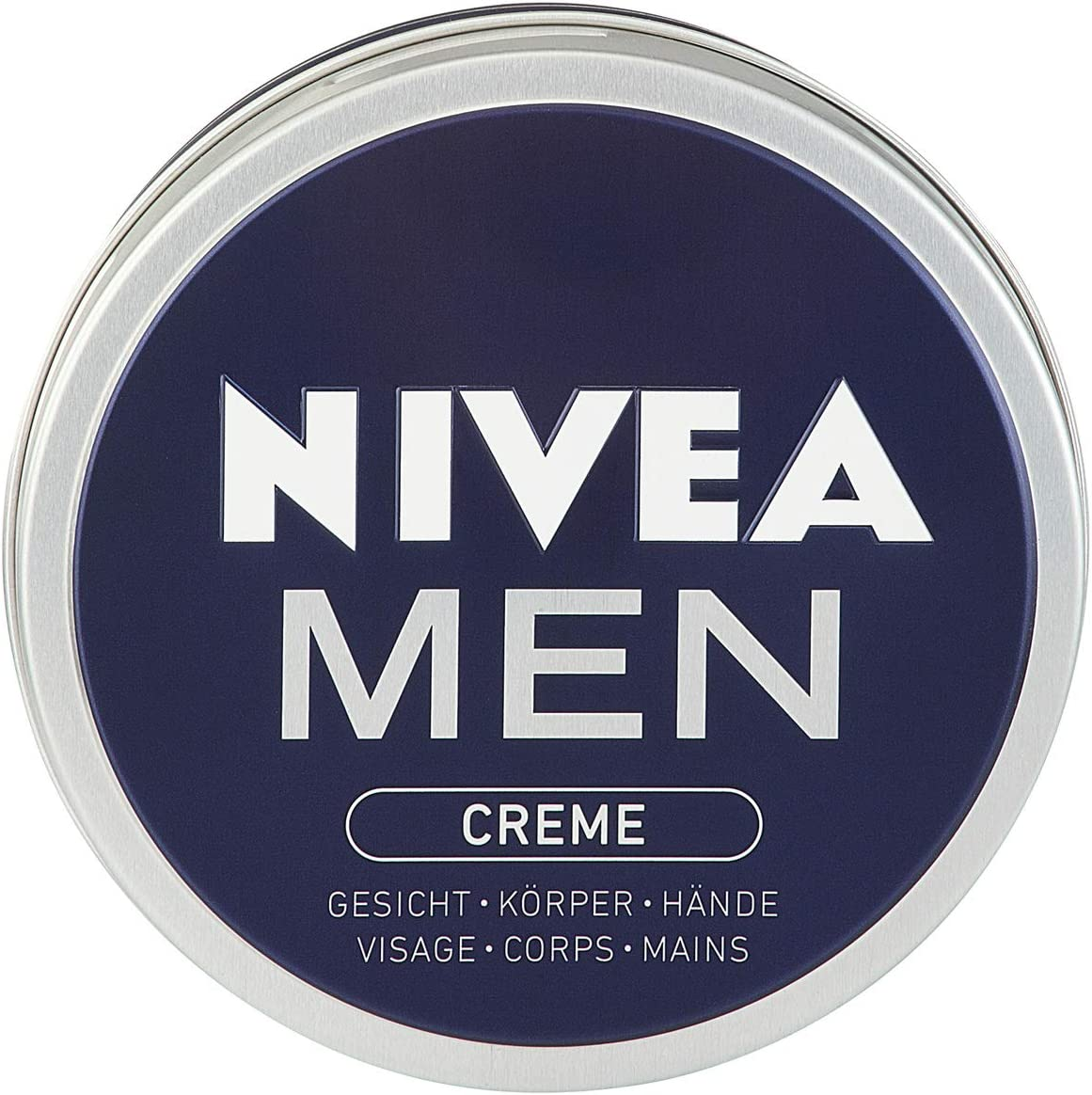 Nivea Men taza de crema de 150 ml, 4-pack (4 x 150 ml) - Version ...
