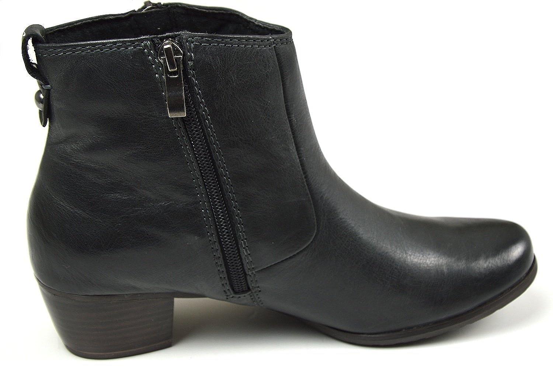 MARCO TOZZI 2-25377-23 Damen Damen Damen Stiefeletten Anti Schock System schwarz antic c8e3c1