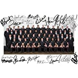 New Zealand All Blacks 2015 Rugby World Cup Squad Autographed Signed A4 21cm x 29.7cm Poster Photo