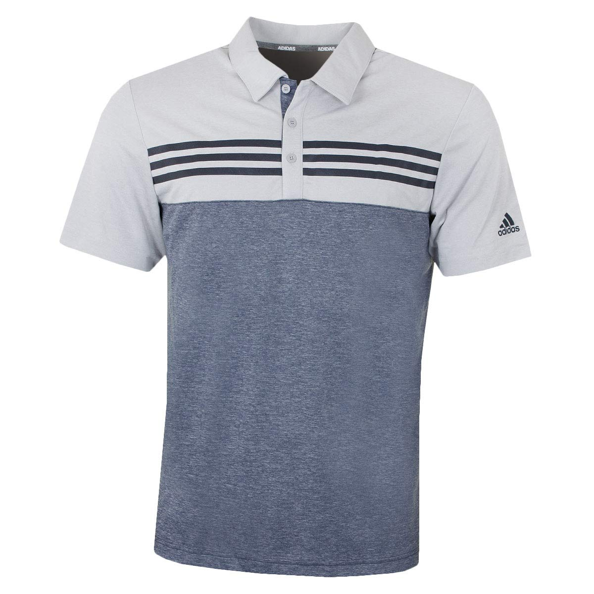 adidas Heather Block Polo, Hombre: Amazon.es: Deportes y aire libre