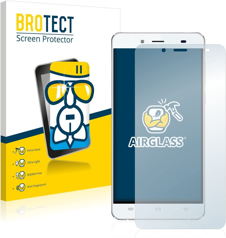 BROTECT Protector Pantalla Cristal Compatible con Pepsi P1S Protector Pantalla Vidrio Dureza 9H AirGlass: Amazon.es: Electrónica