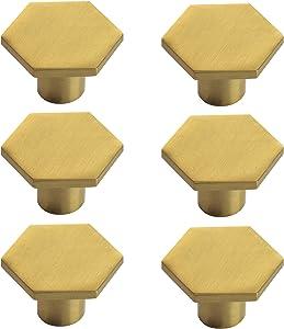 BINO 6-Pack Cabinet Knobs - 1.33