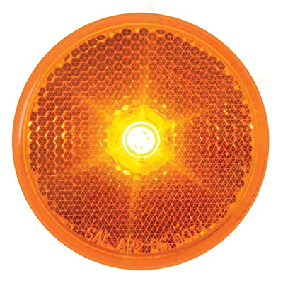 "Grand General 76420 Fleet Series Amber 2-1/2"" Reflector Style LED Sealed Marker/Clearance Light: Automotive"