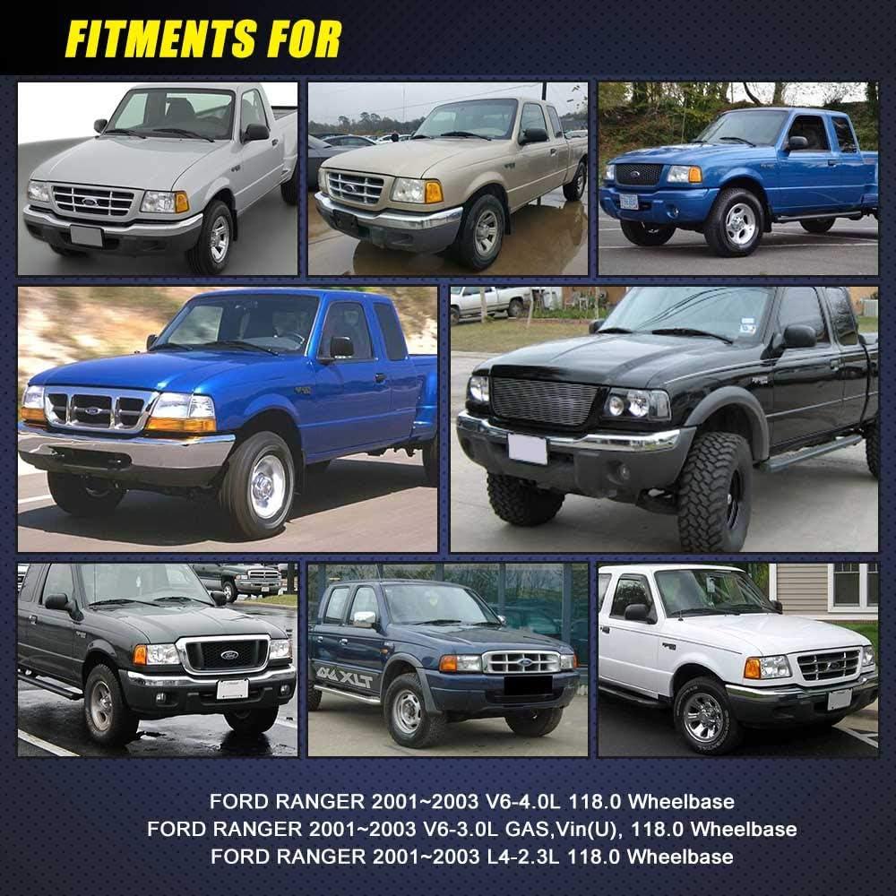 Fuel Pump Module Assembly E2295M fits 2001 2002 2003 Ford Ranger 2.3L 3.0L 4.0L TOPSCOPE FP2295M 118.0 Wheelbase