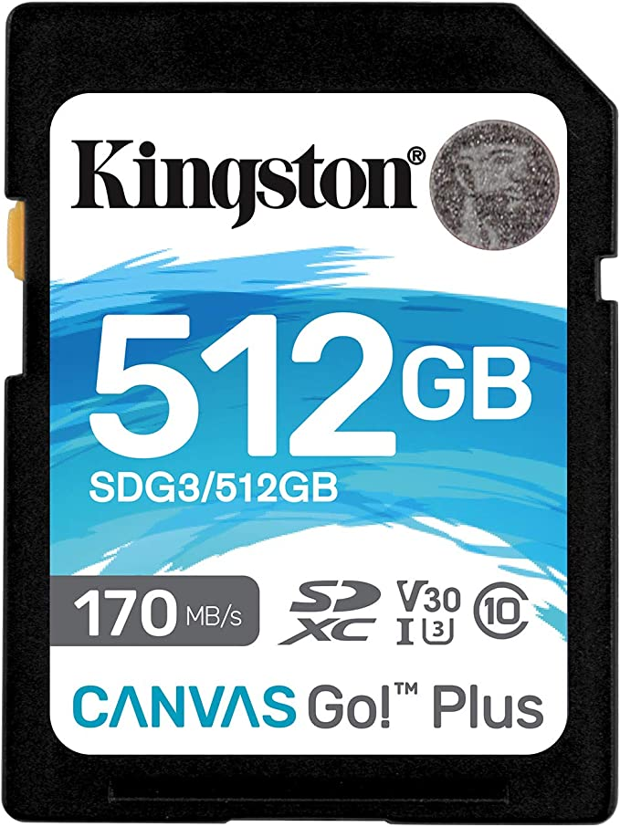 100MBs Works with Kingston Kingston 512GB ARCHOS 53 Titanium MicroSDXC Canvas Select Plus Card Verified by SanFlash.