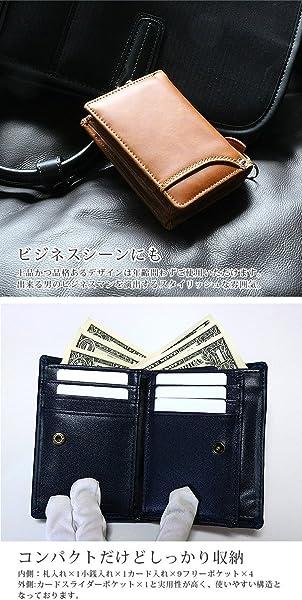 a0507ef20c7b ブラウン 大人 紳士 本革 牛革 二つ折り 財布 2つ折り 短財布 メンズ レディース 男性