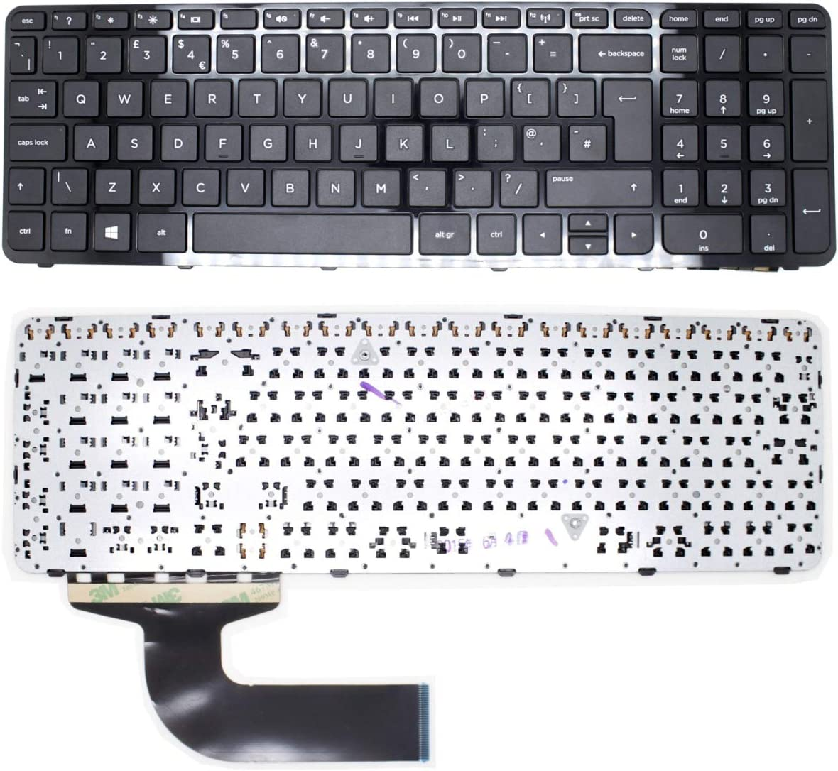 Genuine New US black keyboard for HP 250 G2 250 G3 255 G2 255 G3 256 G2 256 G3