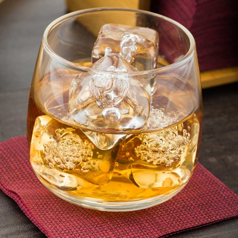 Low Ball Scotch Glass, Low Ball Whisky Glass - 6 oz - Great for Straight on the Rocks or Cocktails - 10ct Box - Restaurantware by Restaurantware (Image #3)