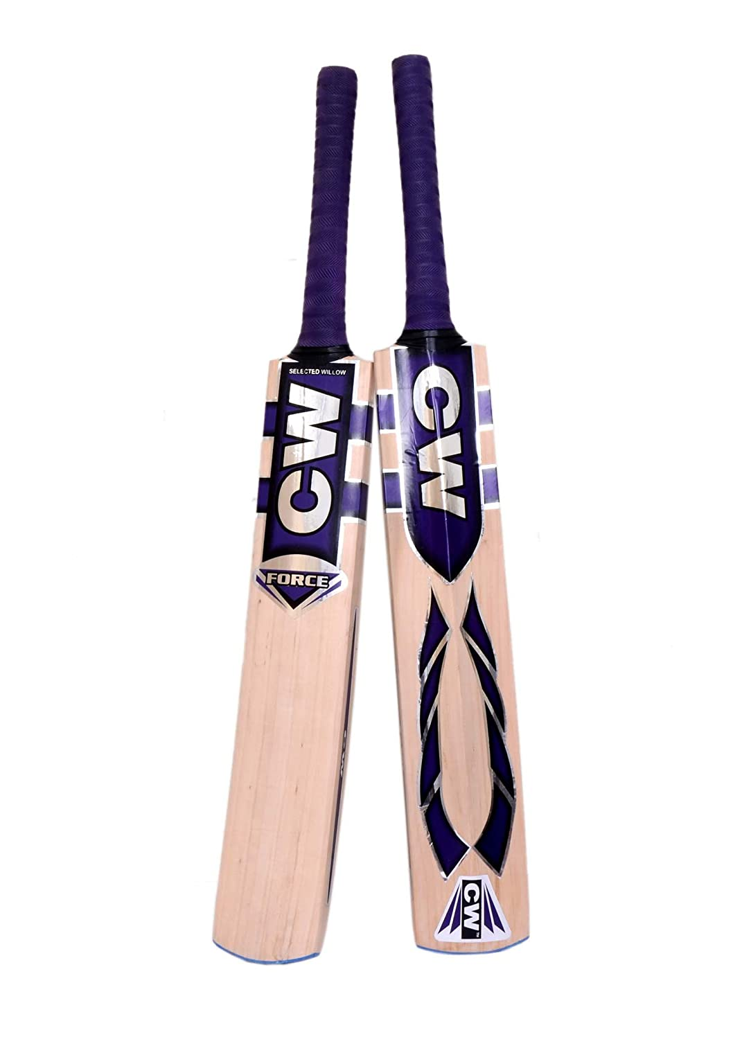 Force Kashmir Willow Leather Ball Cricket Bat, Exclusive Cricket Bat for Adult Full Size with Full Predection Cover