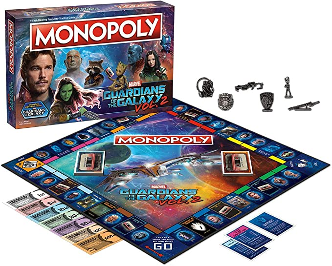 Monopoly Marvel Guardians of The Galaxy 2 Edition: Amazon.es: Juguetes y juegos
