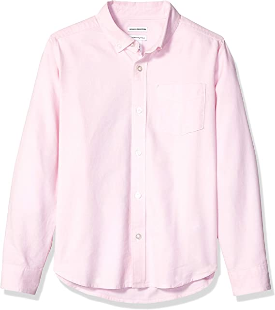 Amazon Essentials - Camisa de manga larga hecha de tela Oxford para niño: Amazon.es: Ropa y accesorios