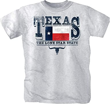Texas Camiseta gris XL: Amazon.es: Ropa y accesorios