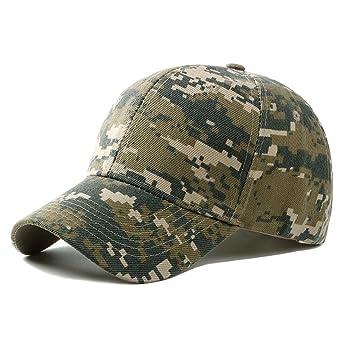 UxradG - Gorra de camuflaje militar para caza, pesca o actividades al aire libre, gris: Amazon.es: Deportes y aire libre
